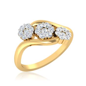 Iski Uski Relish Cluster Ring