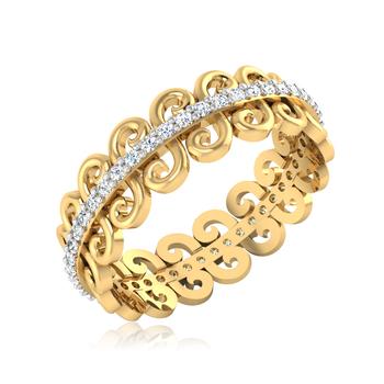Iski Uski Glint Rose Ring