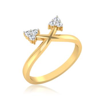 Iski Uski Twinkle Love U Ring