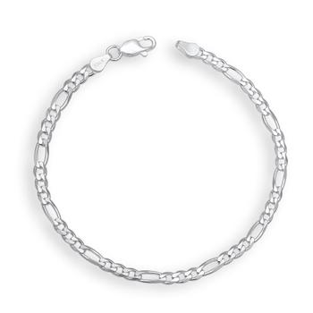Karatcraft Sterling Silver Mens Bracelets Link Design