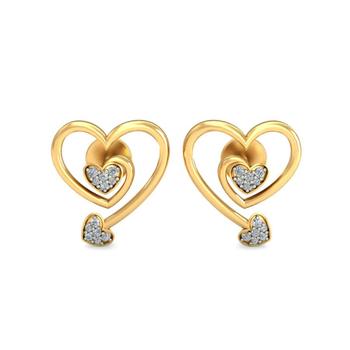 Ornomart's eternal bonding Earrings
