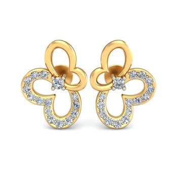 Ornomart's butterfly Earrings