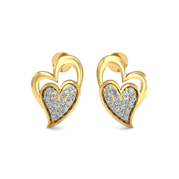 Ornomart's eternal love Earrings
