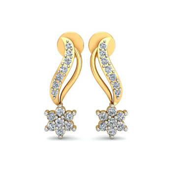 Ornomart's swirling star Earrings