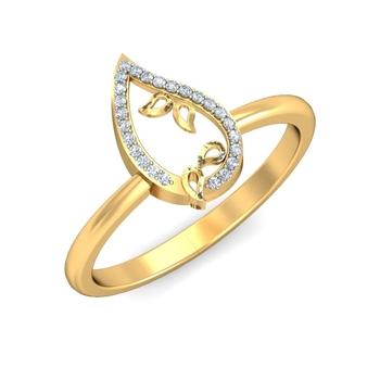 Ornomart's royal leaves Ring