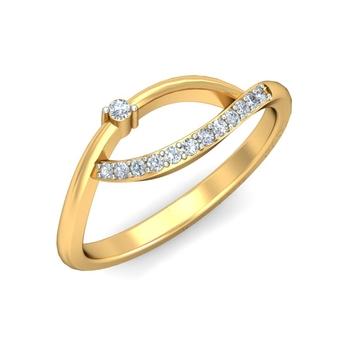 Ornomart's beautiful leaf Ring