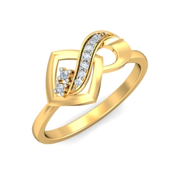 Ornomart's infinite diamond Ring