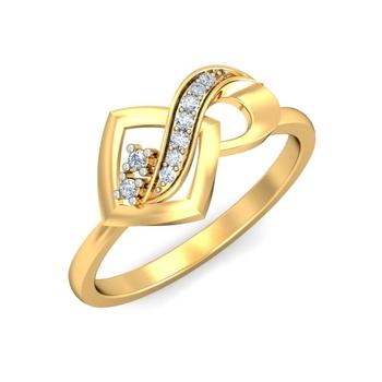 Ornomart's infinite diamond Ring