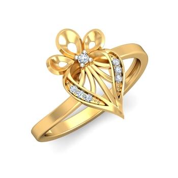 Ornomart's lotus shaped Ring