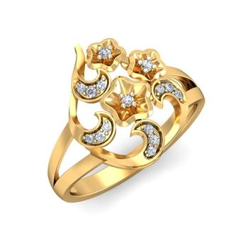 Ornomart's chandrika Ring