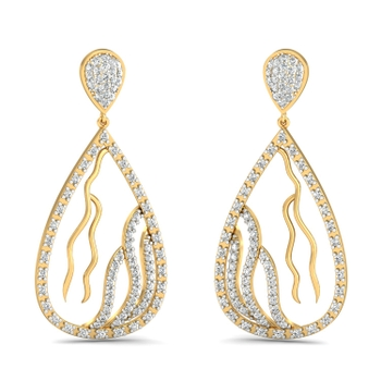 Parshva Jewels' Branched beauty earrings