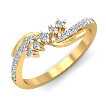 Parshva Jewels' 5 Stars ring