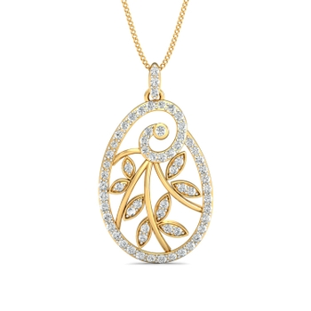 Parshva Jewels' Stylish Pendant Set PJ-PS-15037