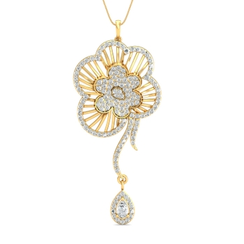 Parshva Jewels' Stylish Pendant Set PJ-PS-15039