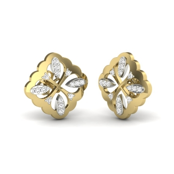 Reena Diamonds Stud Earrings