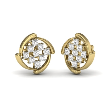 Keshi Designer Diamonds Earrings