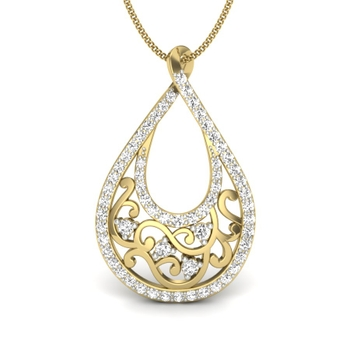Monalisa Natural Diamonds Pendant