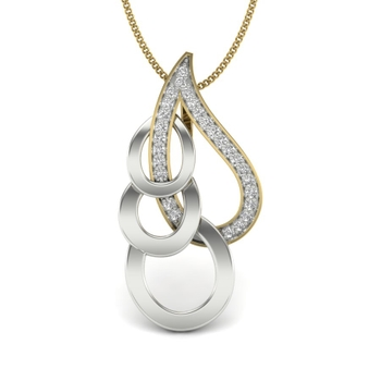 Melina Diamond Drop Pendant
