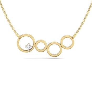 Perrian Prong Set Diamond Pendant