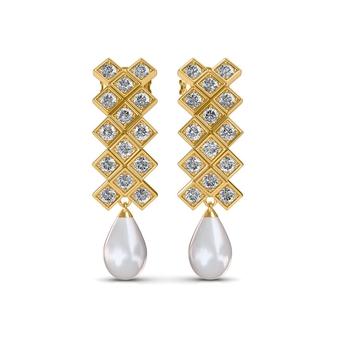 Sarvada Jewels' The Kara Pearl Earrings