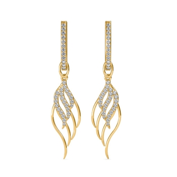 Sarvada Jewels' The Gelsy Leaf Earrings