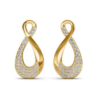 Sarvada Jewels' The Elsy Loop Earrings