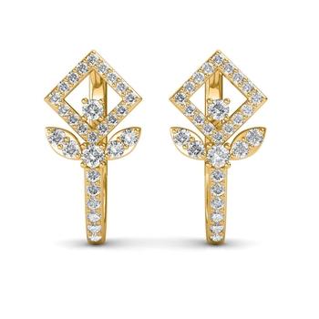 Sarvada Jewels' The Celia Leaf Earrings
