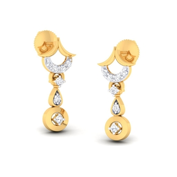 Sarvada Jewels' The Aakriti Earrings