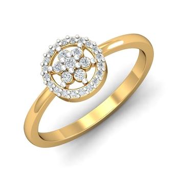 Sarvada Jewels' The Circular Floral Ring