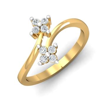 Sarvada Jewels' The Dual Floret Ring