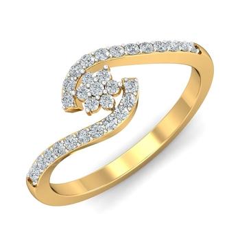 Sarvada Jewels' The Talisha Floral Ring