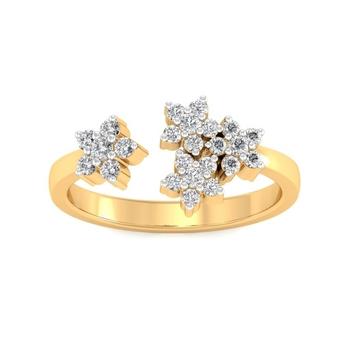 Sarvada Jewels' The Vani Floral Ring