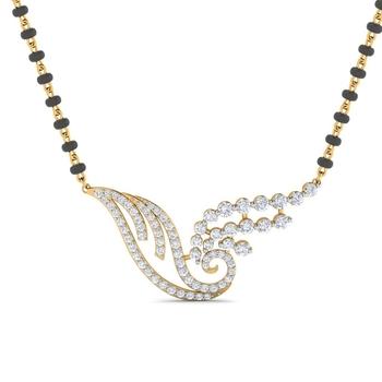 Sarvada Jewels' The Krisha Swirl Mangalsutra