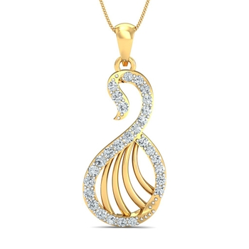 Sarvada Jewels' The Arnica Swan Pendant