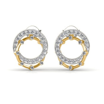 Sarvada Jewels' The Dual Circa Earrings