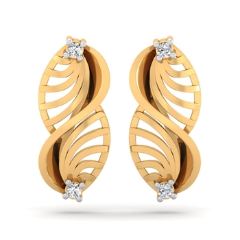 Sarvada Jewels' The Boteh Cut-out Earrings