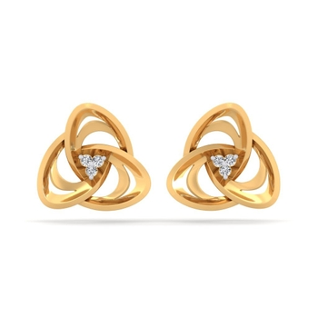 Sarvada Jewels' The Fiona Infinity Earrings