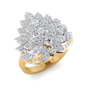 Sarvada Jewels' The Marquise Floral Ring