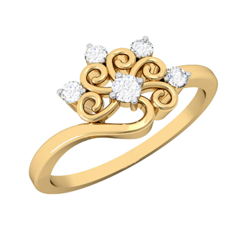 Vachya Diamond Ring 14K VDR-02