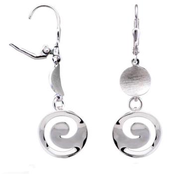 Silver Shine 92.5 Streling Silver Classic Drop Earring For Women & Girls