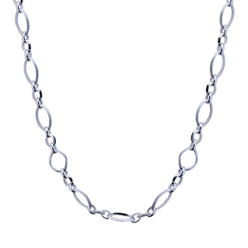 Silver Shine 92.5 Sterling Silver Solid Sterling Silver Chain for Mens