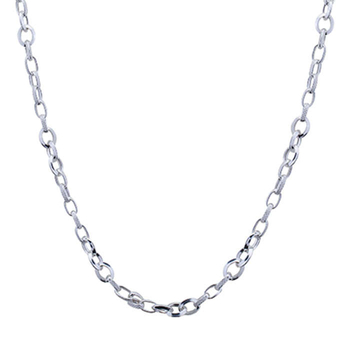 Silver Shine 92.5 Sterling Silver Hip Hope Silver Chain for Mens