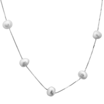 Silver Shine 92.5 Sterling SilverPuls Sterling Silver  Necklace for Women & Girls