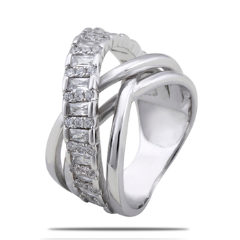 Silver Shine 92.5 Sterling Silver New Style Silver Ring for Women & Girls