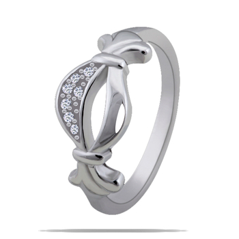 Silver Shine 92.5 Sterling Silver Delicate Silver Ring for Women & Girls