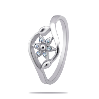 Silver Shine 92.5 Sterling SilverSterling Silver Delicate Silver Ring  for Women & Girls.