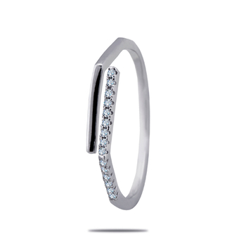 Silver Shine 92.5 Sterling Silver New Fashion Sterling Silver Ring  for Women & Girls.