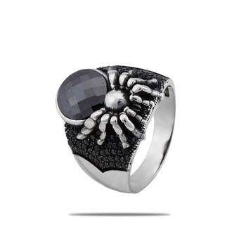 Silver Shine 92.5 Sterling Silver  New Spider Silver Ring   for Women & Mens