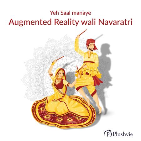 Yeh Saal manaye Augmented Reality wali Navaratri