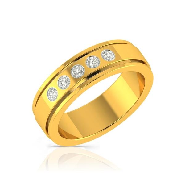Buy Charu Jewels Diamond Ladies Ring CJLR0512 Online in India